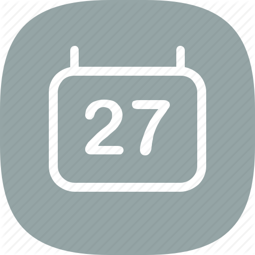 Android, Calendar, Date, Day, Flat Color, Ios, Iphone, Simple Icon