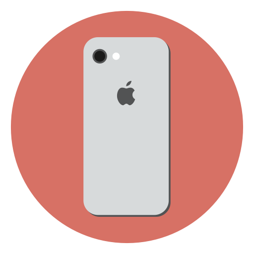 Apple, Mobile, Device, Iphone, Smartphone, Ios, Iphone Icon