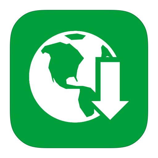 Download, Internet, Manager, Metroui Icon