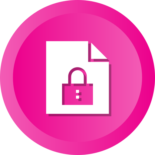 Document, File, Lock, Secure, Protect, Locked, Security Icon Free