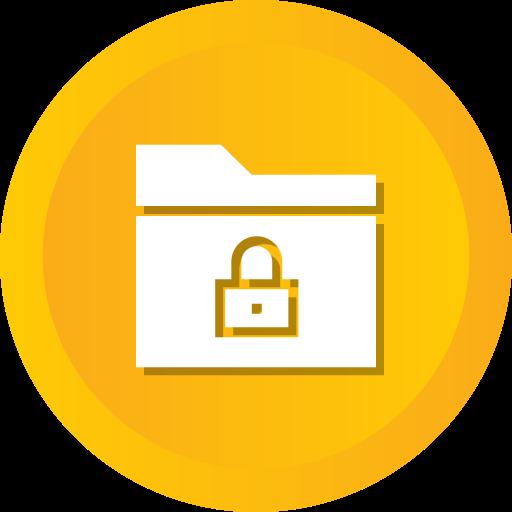 Folder, Block, Secure, Locked, Security, Group, Lock Icon Free