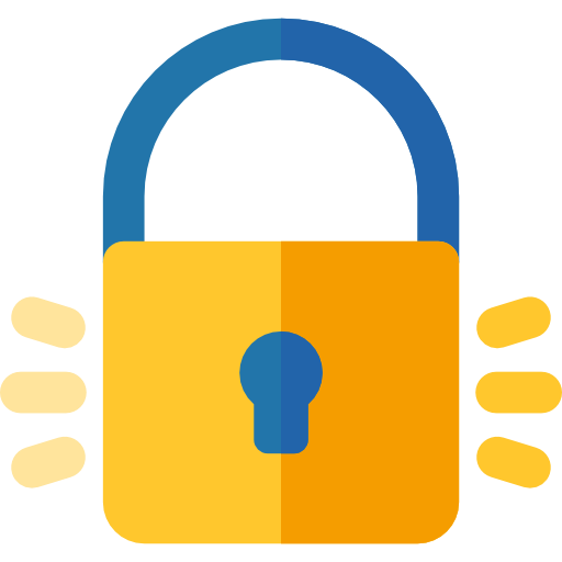 Locked, Lock, Secure, Security, Padlock, Tools And Utensils Icon