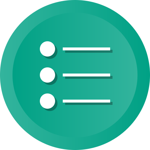 Bullet, List, Menu, Lines, Points, Items, Options Icon Free Of Ios