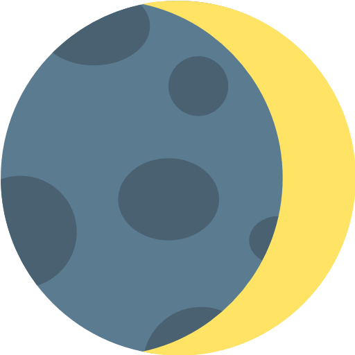 Crescent Moon Emoji For Facebook, Email Sms Id