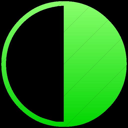 Simple Ios Neon Green Gradient Classica Last Quarter