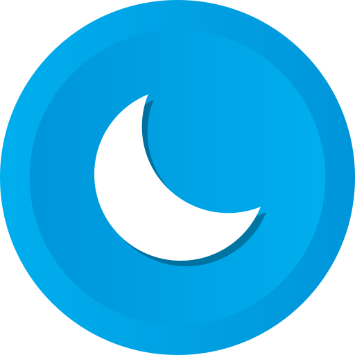 Moon, Night, Astronomy, Nature, Moon, Phase, Sleep Icon Free