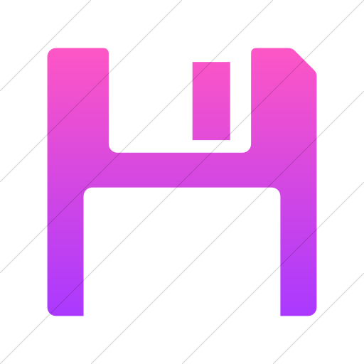 Simple Ios Pink Gradient Foundation Save Icon