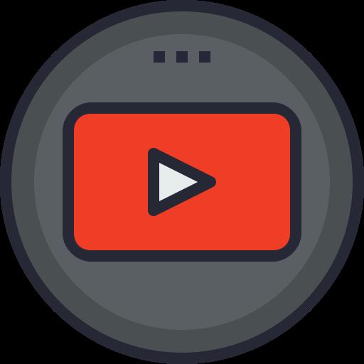 Social, Youtube, Android, Media, Global, App, Ios Icon