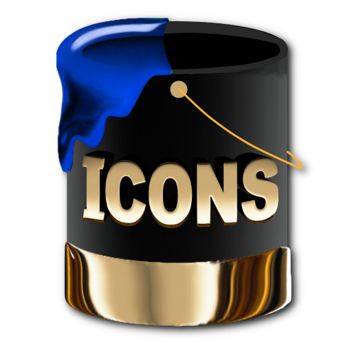 Games Icons Black And Gold Images