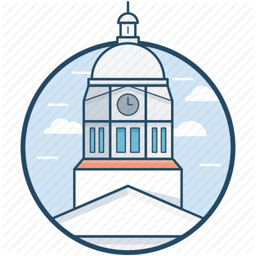 California, Iowa, Johnson County, Lowa City, United States Icon