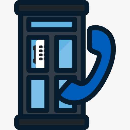 Telephone Booth, Telephone Clipart, Cartoon Png Image And Clipart