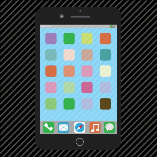 Apple, Iphone, Iphone Plus, Mobile, Phone, Smartphone Icon