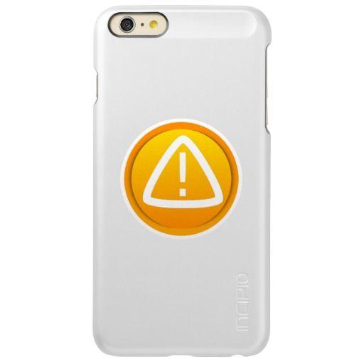 Attention Caution Symbol Incipio Feather Shine Iphone Plus Case