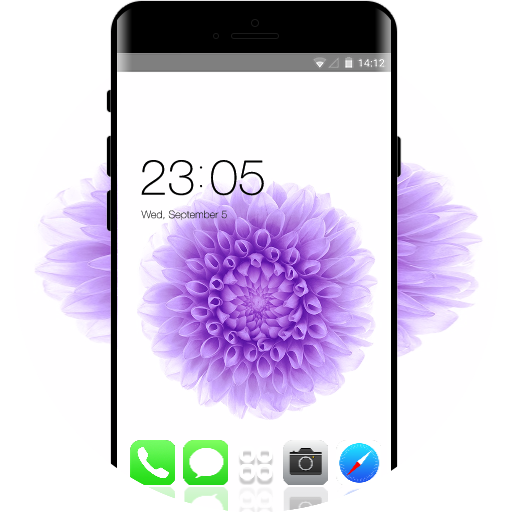 Theme For Iphone Plus Hd Free Android Theme U Launcher