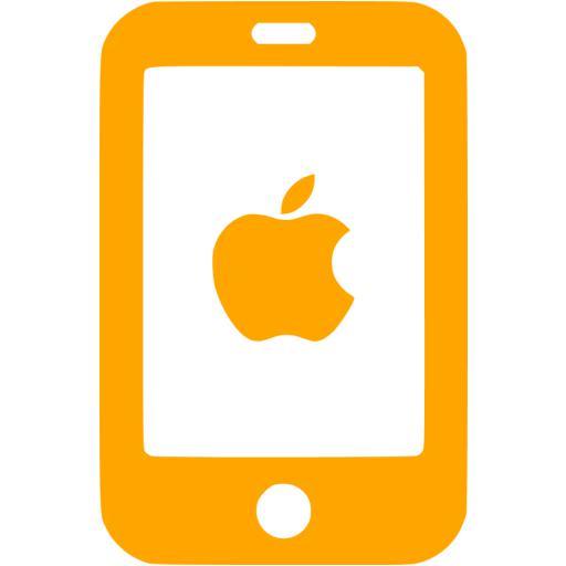 Orange Iphone Icon