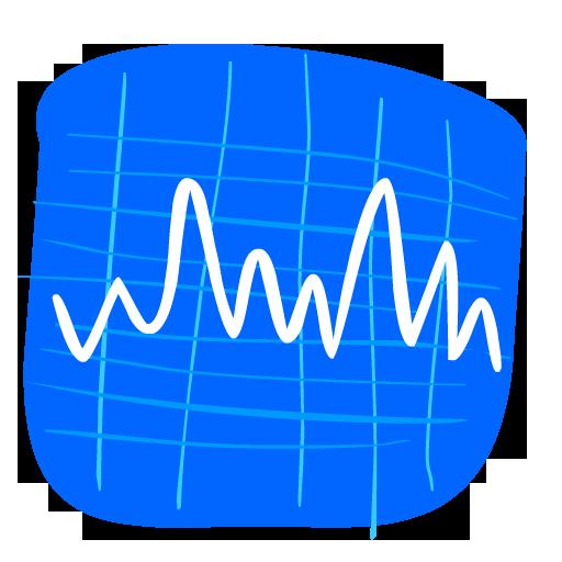 Stocks Icon Hand Drawn Iphone Iconset Fast Icon Design