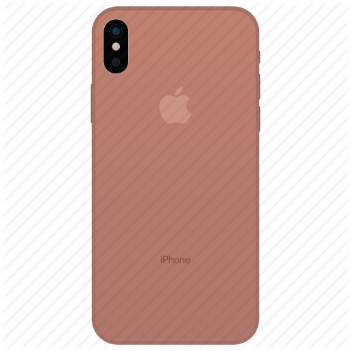 Apple, Blush, Gold, Iphone, Iphone Iphone Pro, Iphone X Icon