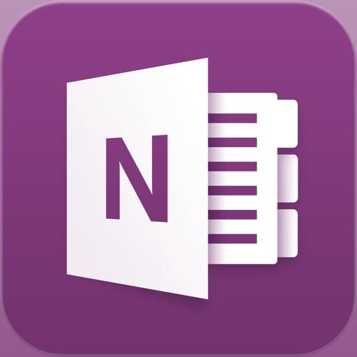 Microsoft Onenote For Iphone App Icon Exquisite App Icons