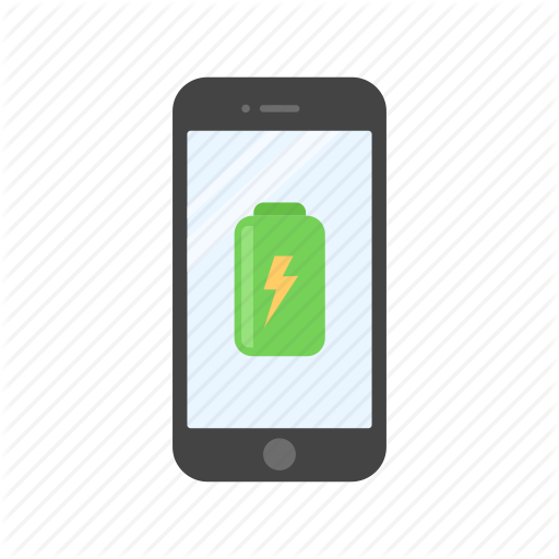 Battery, Charging, Full Battery, Phone, Phone Charging Icon
