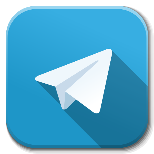 Apps Telegram Icon Flatwoken Iconset Alecive