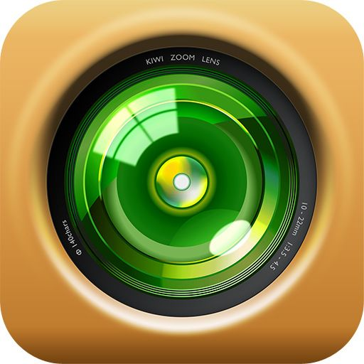 Kiwi Camera App Icon For Iphone, Ipad, And Ipod Touch Ui