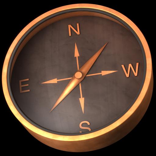 Compas Bronze Icon