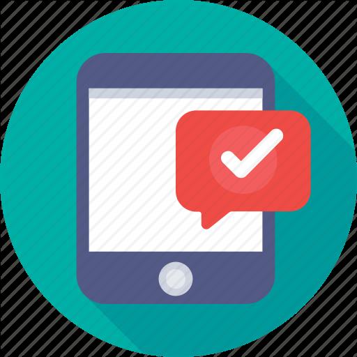 Check Mark, Iphone, Mobile, Smartphone, Tick Icon