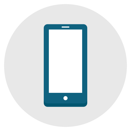 Phone, Android, Iphone, Smartphone, Telephone Icon Free Of Flat