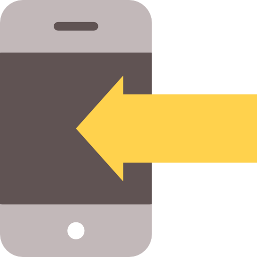 Mobile Phone, Cellphone, Left Arrow, Smartphone, Technology, Phone