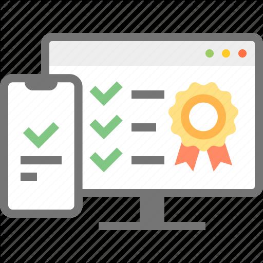 Adaptive, Check, Checklist, Monitor, Quality, Ribbon Badge