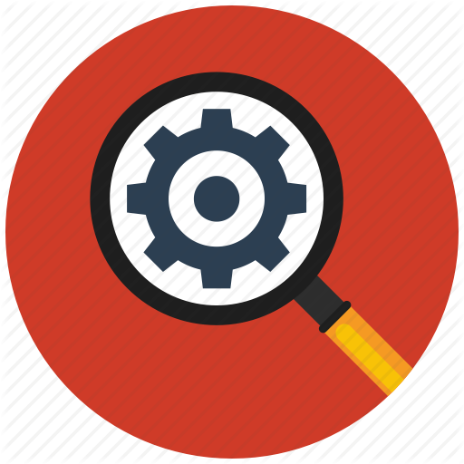 Find, Find Settings, Flat Icon, Search, Seo, Settings Icon