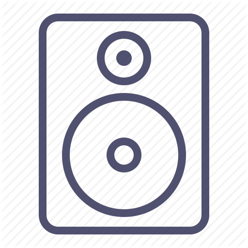 Audio, Music, Sound, Speaker, Speaker Icon Icon