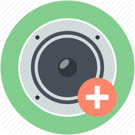 High Volume, Increase Volume, Loud, Sound, Speaker Icon