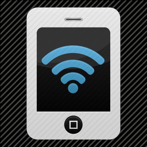 Iphone, Mobile, Network, Phone, Smartphone, Wifi, Wireless Icon