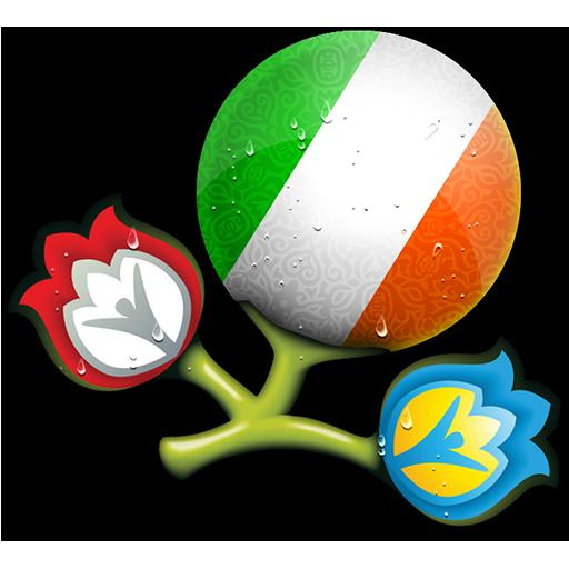 Euro, Ireland, Of, Republic Icon