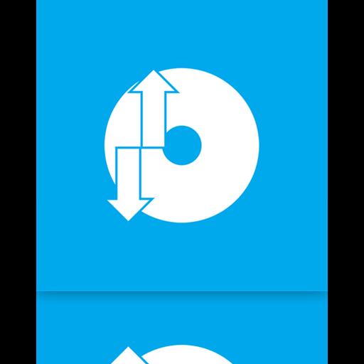Backup, Mirror, Restore Icon