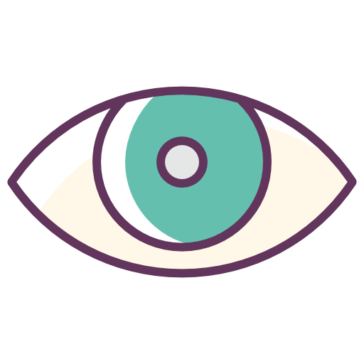 Eye, Iris, Look Icon Free Of Line Color Mix Icons