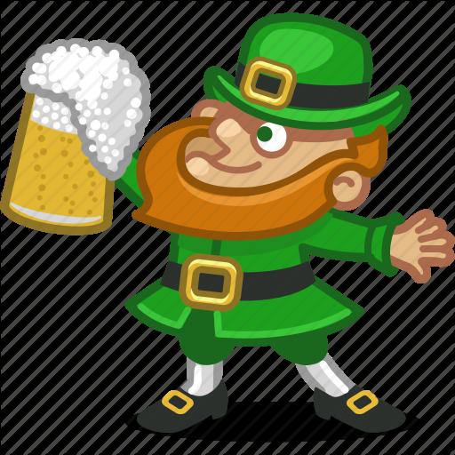 Beer, Drink, Ireland, Irish, Leprechaun, Person, Saint Patrick Icon