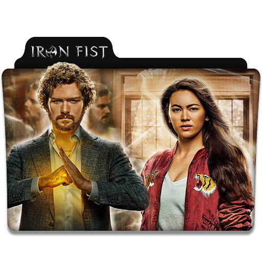 Iron Fist Tv Series Folder Icon