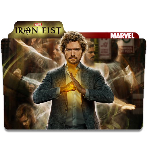 Iron Fist Folder Icon
