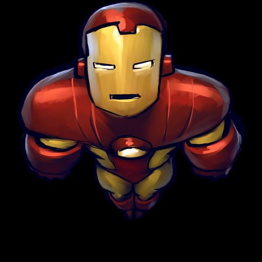 Comics, Ironman, Flying Icon Free Of Ultrabuuf Icons