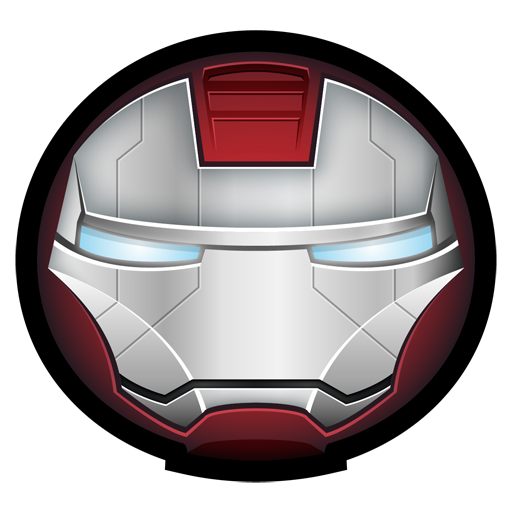 Iron Man Mark V Icon Iron Man Avatar Iconset Hopstarter