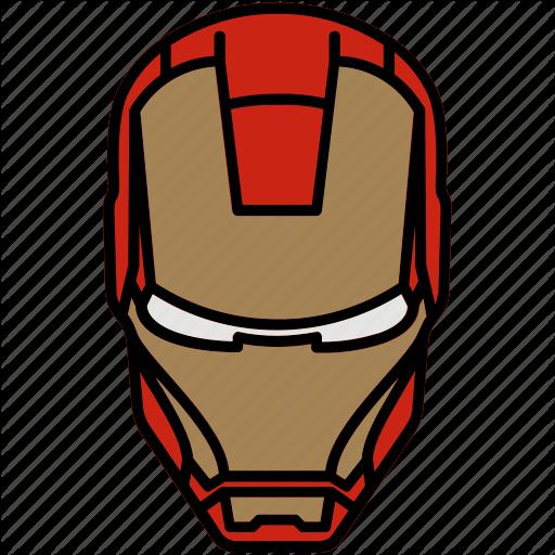 Iron Man, Marvel, Mask, Suit Icon