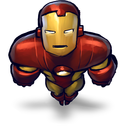 Comics Ironman Flying Icon Free Download As Png And Formats