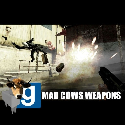 Mad Cows Weapons Reborn For Gmod Garry's Mod Skin Mods