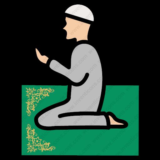 Download Dua,namaz,praying,islam,islamic Icon Inventicons