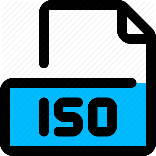 Type, Format, Iso, Iso Image Icon