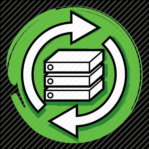 Data, Maintenance, Server, Service, Support, Update Icon