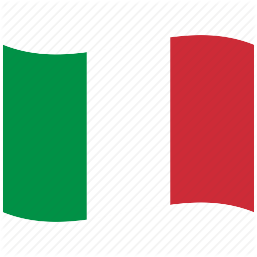Green, It, Italian Flag, Italy, Red, Rome, Waving Flag Icon