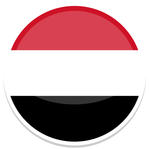 Yemen, Flag, Flags Icon Free Of Round World Flags Icons